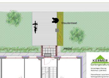 Grünanlagenplanung Wohnhaus