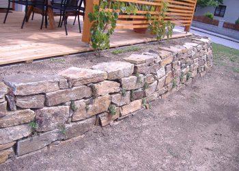 Hartgneis Natursteinmauern