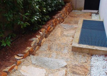 Natursteinplatten aus Hartgneis