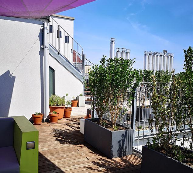 Terrassengestaltung Wien